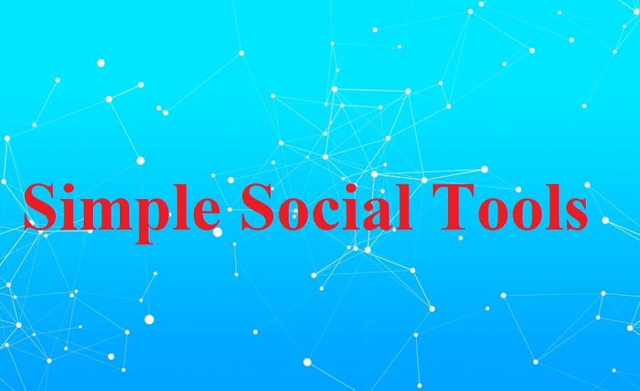 simple social tools list