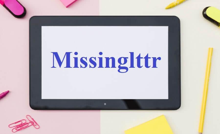missinglttr social media tool