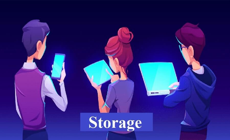 tablet vs laptop storage